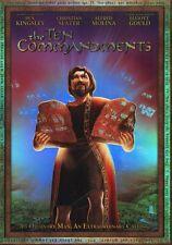 THE TEN COMMANDMENTS, Movie DVD - Ben Kingsley, Christian Slater, Elliott Gould