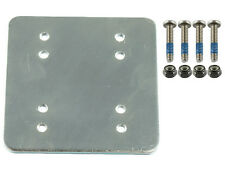 "Ram 3 x 3 Backer pPlate w/ Amps and 1.5"" x 2"" Threaded Holes & Hardware"