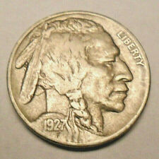 """1927 P Indian Head """"Buffalo"""" Nickel *Ag Or Better* *Free Shipping*"""