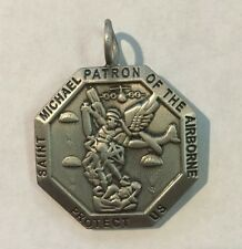 St. Michael Medallion - Patron Saint of the Airborne - Custom Chicago Chapter