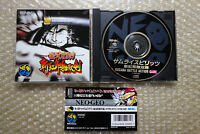 "Samurai Spirits 3 + Spine Card ""Good Condition"" Neo Geo CD SNK Japan"