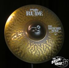 "Paiste 14"" Rude Sound Edge Hi Hats - 896g/1143g (video demo)"