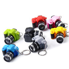 Creative Mini Toy Camera Fashion Charm With Flash Light Sound Gift Key Chains