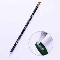 Rhinestone Picker Pencil Tool Nail Art Gem Crystal Tool Wax NEW Pen PickUp