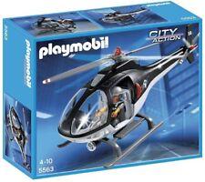 Helicoptero unidad especial de Policiaplaymobil