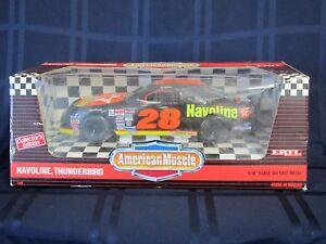 NIB ERTL Davey Allison #28 Havoline Texaco- Diecast Thunderbird NASCAR Race Car