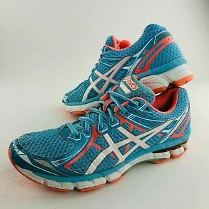 ASICS Gel GT 2000 Running Trainers Womens Shoes US 10 Blue Sneakers