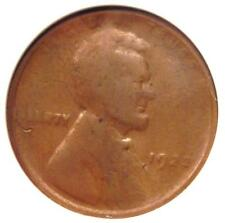 """1922 No D """"Plain"""" Strong Reverse Lincoln Wheat Cent Penny 1C - ANACS Fine Detail"""