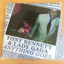TONY BENNETT & LADY GAGA - ANYTHING GOES - POLYDOR RECORDS CD PROMO NEW