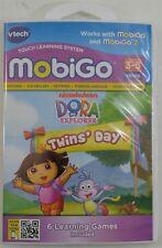 VTech MobiGo / MobiGo 2 Dora The Explorer Twins' Day Animated Software Cartridge