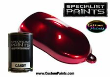 Litre of Candy Deep Red, Automotive Grade Paint, Urethane Based, Custom Paint