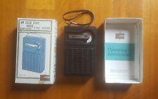 Vintage Solid State AM Transistor Radio