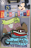 DISNEY Disneyland 65th Anniversary Storybook Land Canal Boat Limited Edition PIN