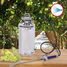 Stainless Steel Pest Control Sprayer Handheld Pumped Garden Cleaning 1.5 Gallon