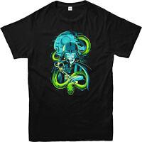 Harry Potter T-Shirt,House Slytherin Snake,Adult and Kids Sizes
