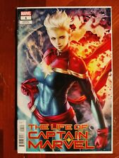 Marvel Comics Life Of Captain Marvel #1 Stanley Artgerm Lau Variant Cover Comic
