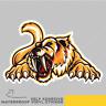 Sabertooth Animal Skull Tiger Vinyl Sticker Decal Window Car Van Bike 2530