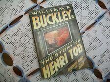 The Story of Henri Tod (William F. Buckley, Jr, 1984 HCDJ)