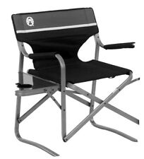 Coleman Camping Chair With Side Table | Aluminum Outdoor Chair With Flip Up Tabl