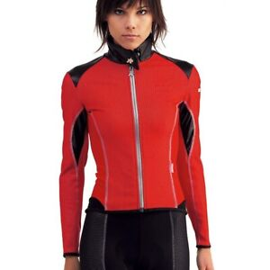 Assos Womens UmaJack Airblock 851 Jacket Red Large