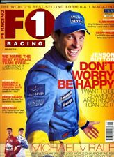 F1 RACING MAGAZINE May 2002 Jenson Button Fisichella Mika Salo Schumacher