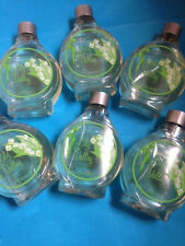 SALE!!!!  6  X AVON LILY OF THE VALLEY BATHTIME INDULGENCE  250 MLS EACH
