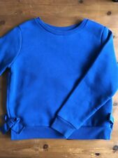 Marks and Spencer's Girls Sweatshirt/Jumper Blue Age 10 - 11 NEW