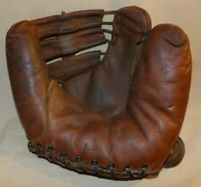 VINTAGE WILSON PROFESSIONAL 636 BASEBALL GLOVE TWO FINGER MODEL LEATHER