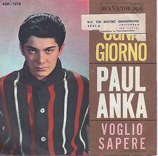 7inch PAUL ANKA ogni giorno ITALY EX
