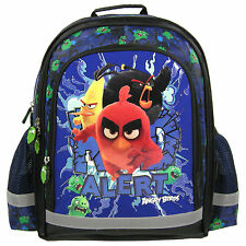 Angry Birds MOVIE Backpack School Bag Gym Tourist Holiday Swim Boys Black