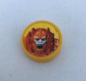Vintage He-Man MOTU - ORKO Part Magic Coin 1980s original-Beast man orko coin