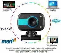 HD Webcam Computer Web USB Camera For Laptop Desktop PC Video Cam W/ Microph QN