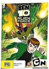 BEN 10 ALIEN FORCE VOLUME 5 Cartoon Network DVD NEW