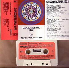 Canzonissima 1973 Camaleonti Cinquetti Nazzaro Mc Tape Cassette