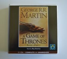 A Game of Thrones, Book 1, Part 2: George R.R. Martin - Audio Book - 13CDs