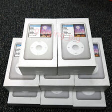 New Silver Apple iPod Classic 6th Generation 80Gb Thin Mp3/4 Player - Warranty