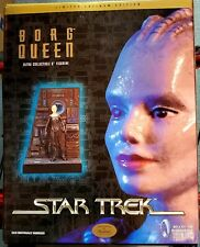 1998 Star Trek Borg Queen Ultra Collectible figurine Latinum edition SEALED BOX