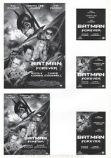 VAL KILMER - BATMAN FOREVER * GERMAN PRESS SHEET