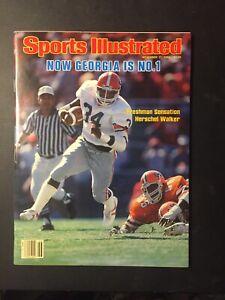 HERSCHEL WALKER Georgia Bulldogs 1980 Sports Illustrated No Label NEWSSTAND