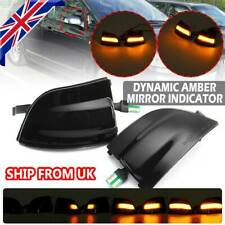 For Ford Focus C-Max MK1 03-11 Dynamic Amber Door Mirror LED Indicator Light