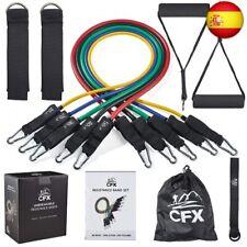 CFX Bandas Elásticas Fitness, 150lbs Bandas de Resistencia Set, 5 Tubos de