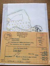 Elvis Presley Music Memorabilia Ephemera White Toy French Poodle Invoice +Sketch