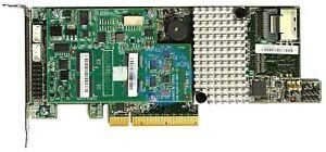 LSI MegaRAID SAS9271-4i - LP PCIe-x8 RAID 0, 1, 5, 6, 10, 50, 60 SAS Controller