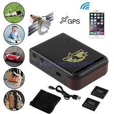 Small Car Vehicle GSM GPS Trace Tracker Mini Device SMS Spy Lost/Found Bike