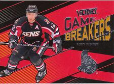 10/11 UPPER DECK VICTORY GAME BREAKERS MIKE FISHER SENATORS *10059