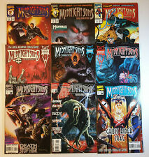 Midnight Sons Unlimited #1 to 9 Marvel Comics VF/NM