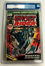 Ghost Rider #1  Marvel Comic Book, CGC 9.6  - 1st Son of Satan, 1973 NM