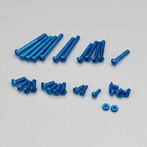 KO Aluminum Screw Set for EX-RR/EX-2 (Blue) - KOP10594