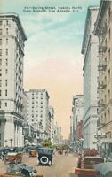 LOS ANGELES CA - Spring Street looking North from Seventh