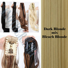 Summer Ponytail Claw Clip in Hair Extentions Extension Pony Tail Long Thick AM2